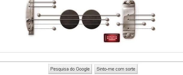 doodle musical Doodle, Gibson, google, Guitarra, Les Pauls, pictures, The Edge, U2