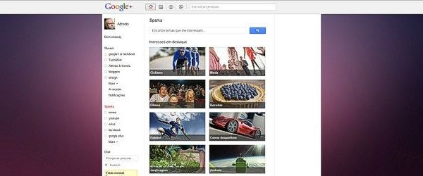 google plus fundo
