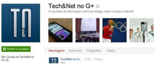 "páginas ""google plus"", páginas, pictures, techenet"