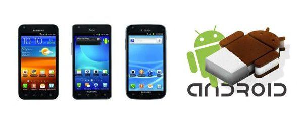 """galaxy ICS """"Galaxy S II"""""""