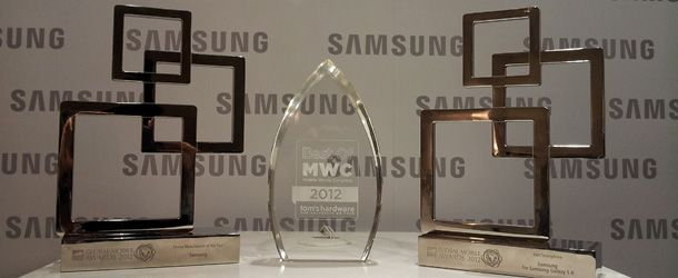 samsung-global mobile awards - mwg2012