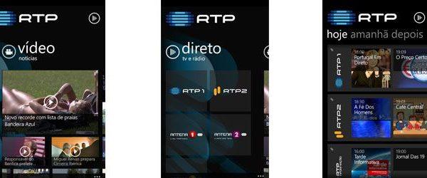 rtp app nokia aplicação da RTP para Windows Phone