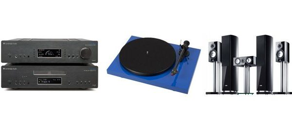 Cambridge Audio, Pro-Ject e Canton