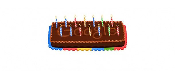 O Google celebra hoje, terça-feira (27 de setembro), o seu 14º aniversário