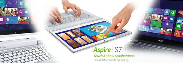 Acer apresenta tablets, notebooks e desktops com Windows 8