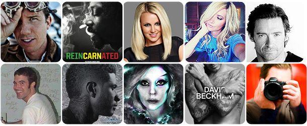 Top 10 Celebridades do Google+