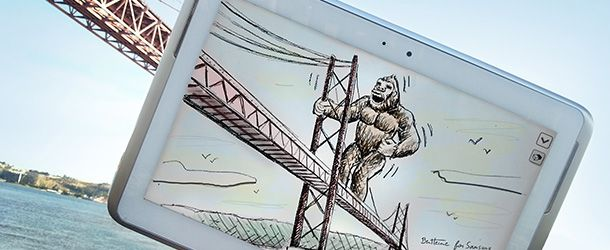 King-Kong: GALAXY NOTE 10.1