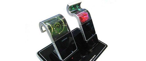 Samsung planeja iniciar a produção em massa de telas flexíveis para tablets e smartphones