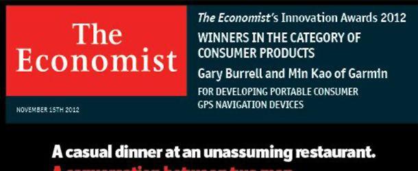 The Economist Innovation Award 2012