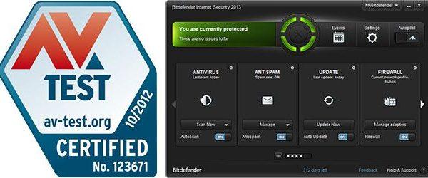 Bitdefender 2013 conquista o primeiro lugar nos novos testes da AV-Test