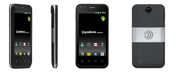 Smartphone Gradiente Neo One GC 500 SF Dual Chip Android 2.3.4 3G Gradiente