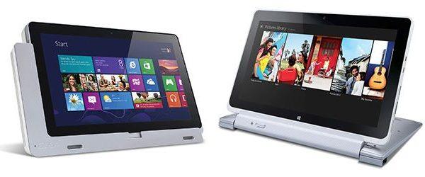 Iconia Tab W510 e Iconia Tab W700