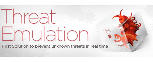 Check Point Threat Emulation Software Blade