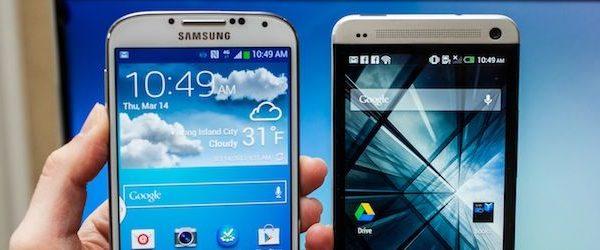 HTC One Galaxy S4