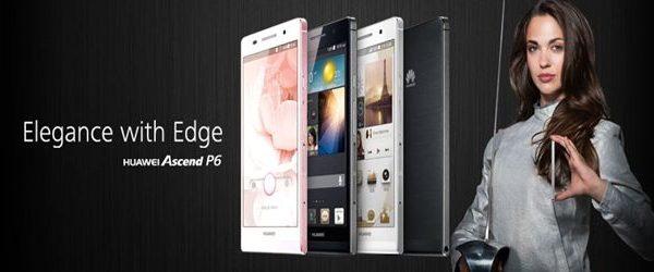 Huawei lança Ascend P6: smartphone mais fino do mundo