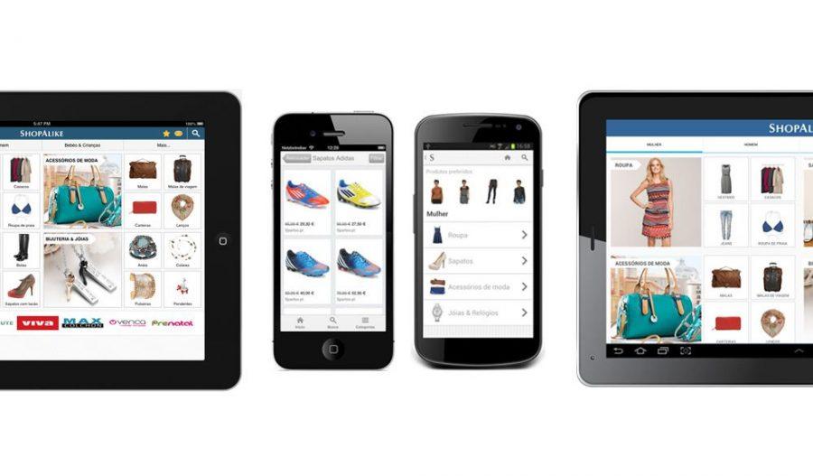 e-commerce móvel