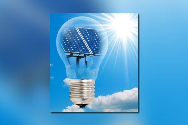Lâmpada-Painel-Solar