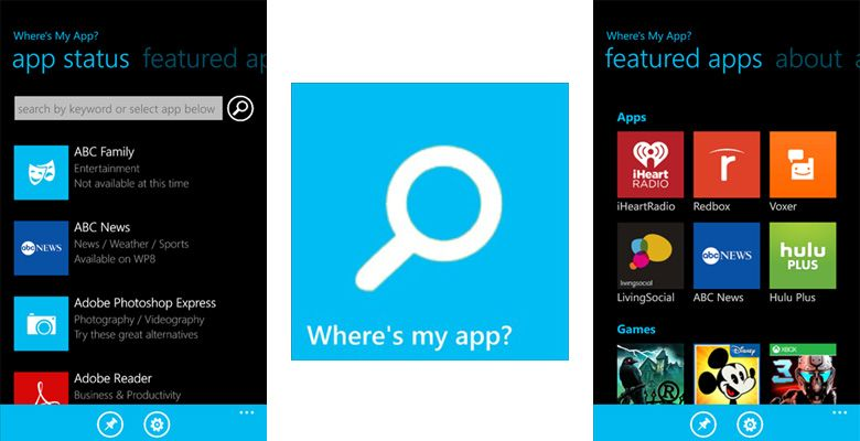 Where-is-my-app?
