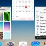 multitarefas ios7 apple, central de controlo, iOS7, iphone, spotlight