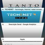 safari io6 apple, central de controlo, iOS7, iphone, spotlight