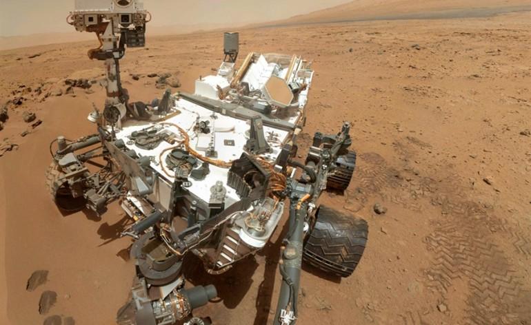 Curiosity - vida em Marte