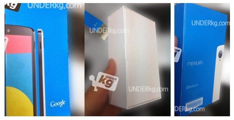 NEXUS 5 BOX Android, google, Nexus 5, smartphone