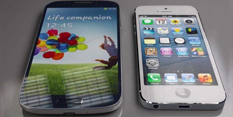 Galaxy S4 vs iPhone 5S
