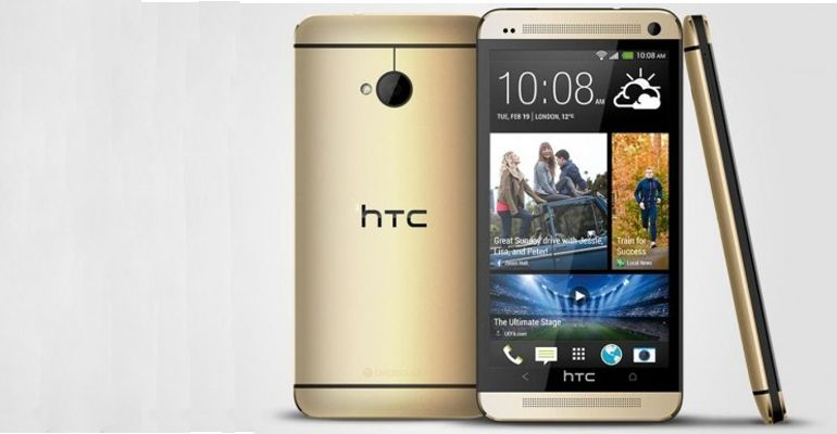 HTC One dourado