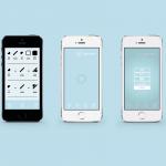 ColorADD Symbols Light blue Share aplicação, App, ColorADD, daltónicos, Fundação Vodafone, smartphones, telemóvel
