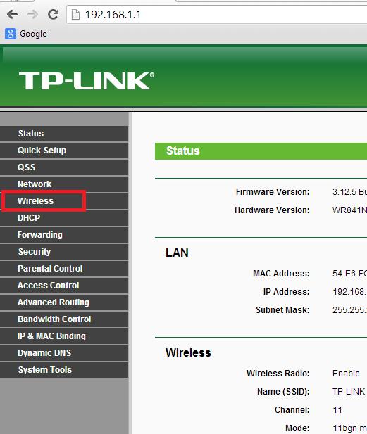 Como mudar senha wifi no roteador tp link (4)