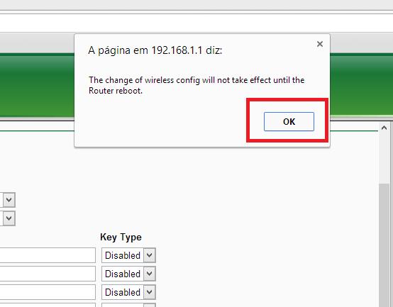 Como mudar senha wifi no roteador tp link (8)