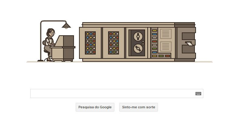 Google Doodle: homenagem a Grace Murray Hopper
