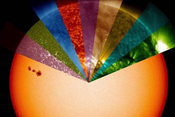 NASA: cores-das-ondas-solares