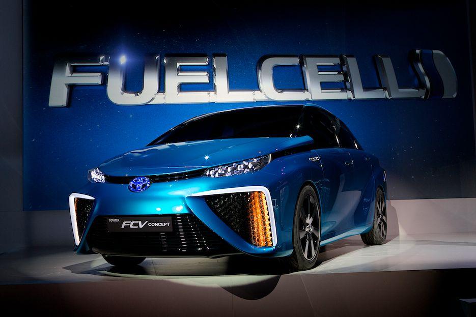 Toyota FCV CES 2014
