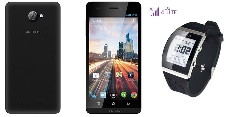 Archos-Helium-4G-smartphone-and-smartwatch