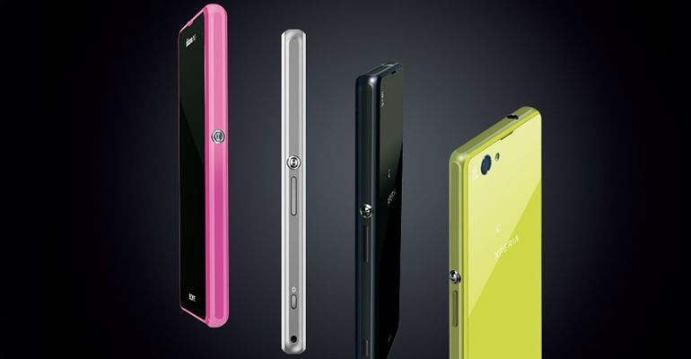Sony Xperia Z1 Compact CES 2014
