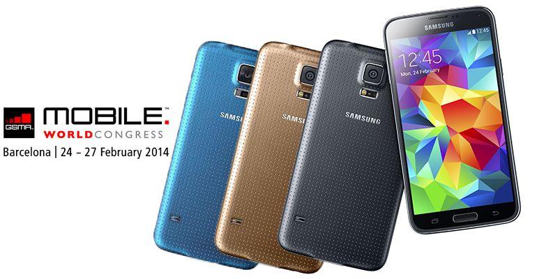 Samsung Galaxy S5 MWC 2014