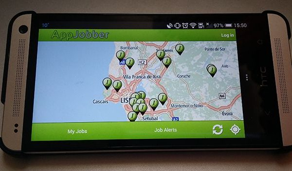 AppJobber Android iOS