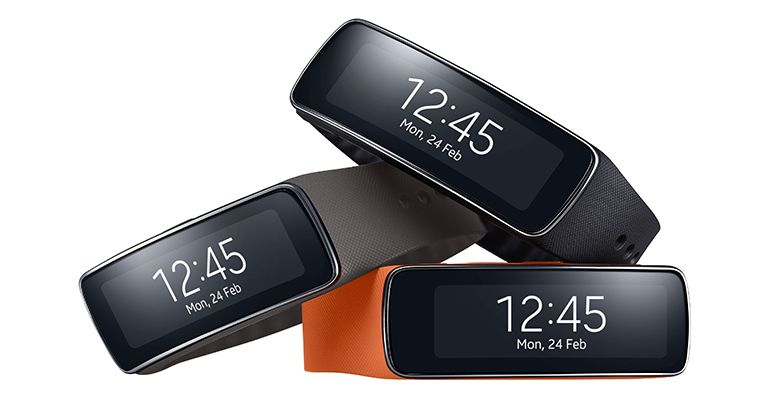 Samsung Gear Fit MWC 2014