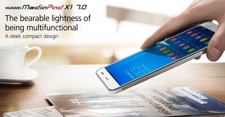 Huawei MediaPad X1 MWC2014