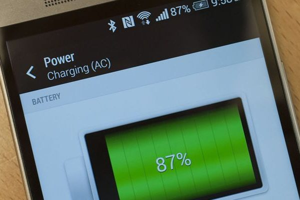 HTC One M8 Quick Charge Qualcomm