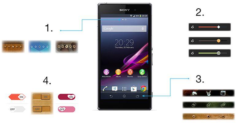 Sony Xperia Themes
