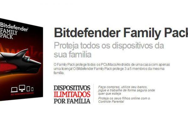 Bitdefender protege pais e filhos com o Family Pack