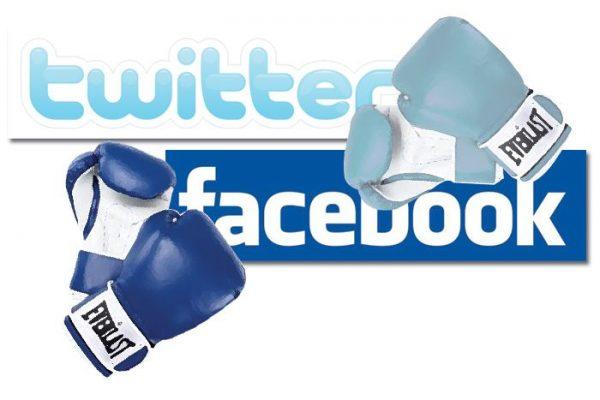 "Twitter vs facebook1 ""redes sociais"""