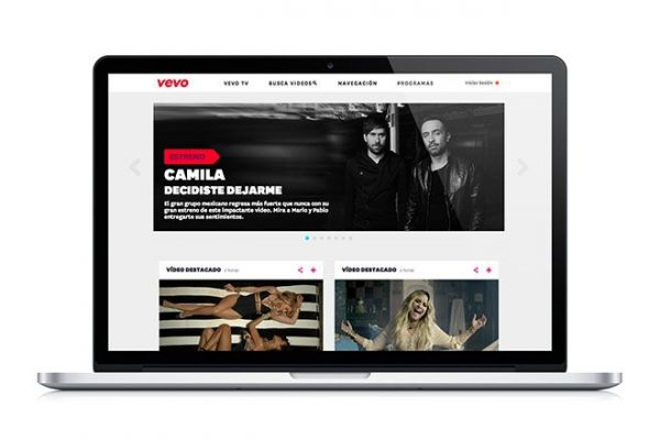 Vevo_MX_Web_Home