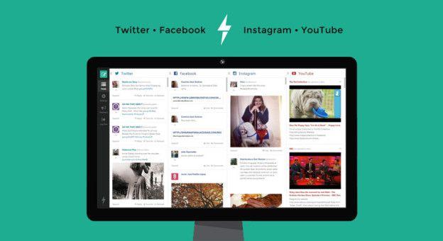 feedientdest3 facebook, Feedient, instagram, new technologies, novas tecnologias, social networking, twitter, webapp, youtube