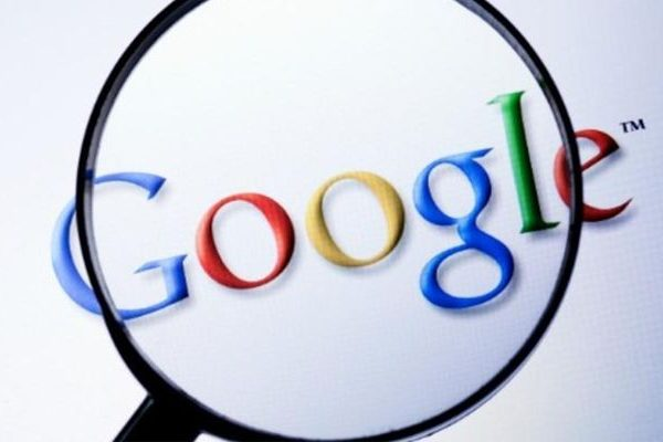 Google Search controlos de voz