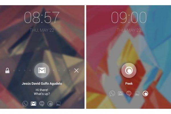 Paranoid Android Peek