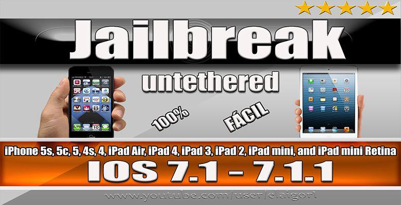 jailbreak iphone 4s jailbreak untethered ios 7 1 7 1 1 para iphone 5s 5c 5 2194