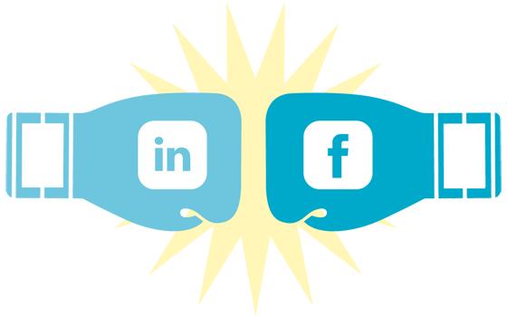 Linkedin vs Facebook B2B
